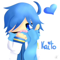 Kaito - Vocaloids by GypsyCuddles