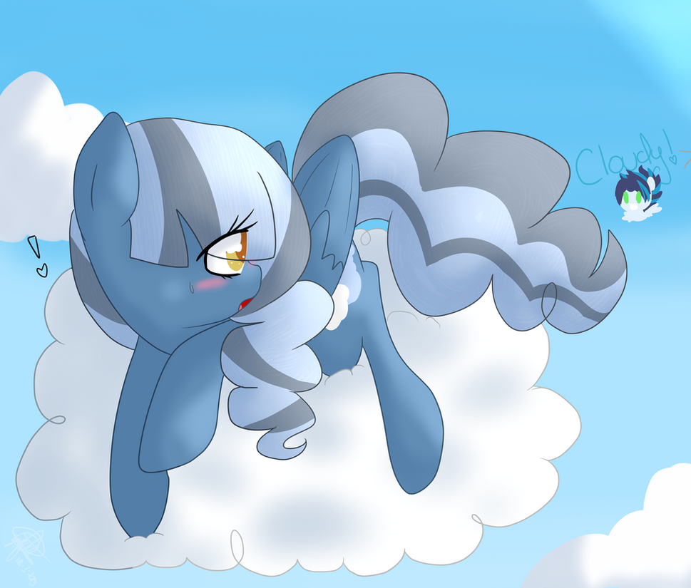 Cloudy Skies - Fanart by GypsyCuddles