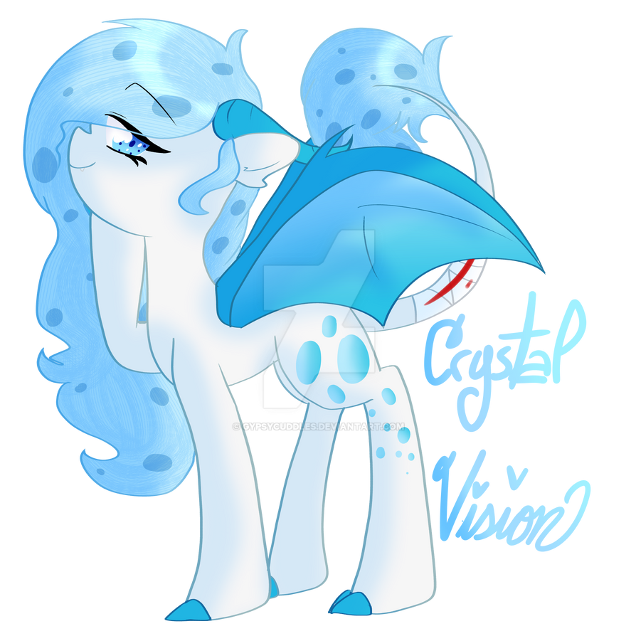 Crystal Vision - REQUEST by GypsyCuddles