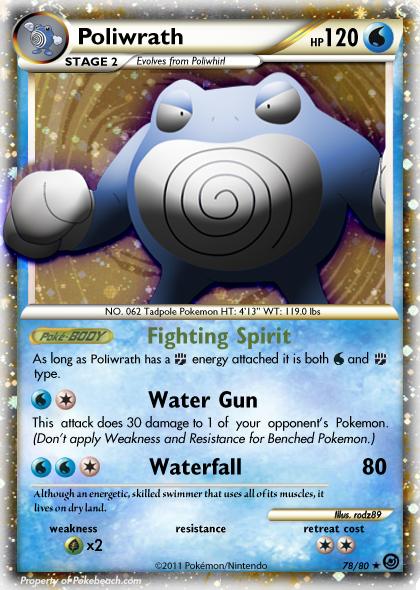 Poliwrath - Furious Fists #17 Pokemon Card