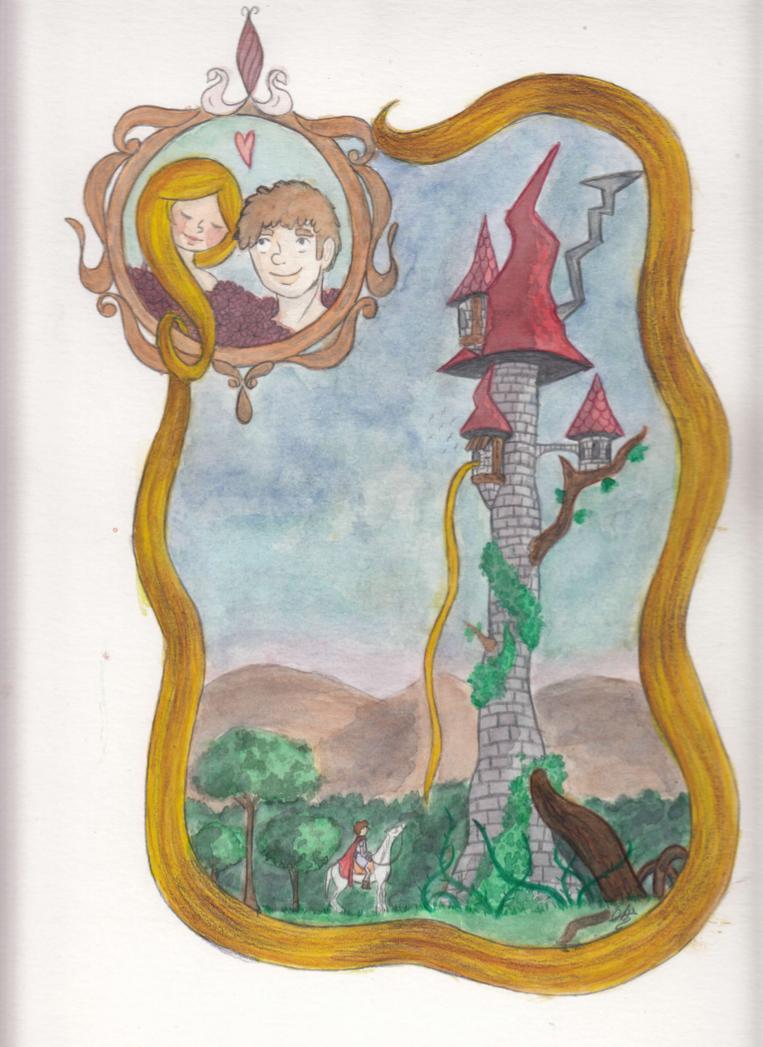 Rapunzel by akuxkuroi