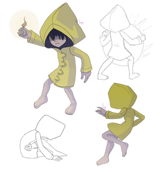 Little nightmares sketches