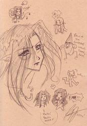 Igrit, Petey, David the Gnome? by shidarezakura