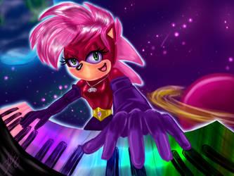 Cosmic Keyboard by Sarky-Sparky