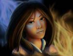 Speedpaint: Ming-Na as Mulan