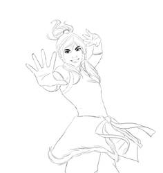 $3 Sketch Commission: Korra