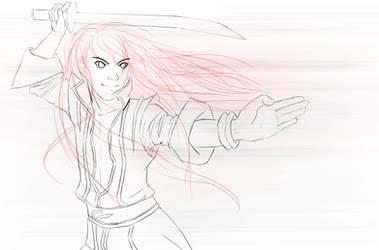 $3 Sketch Commission: Yuri