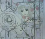Yuki in Rose Garden