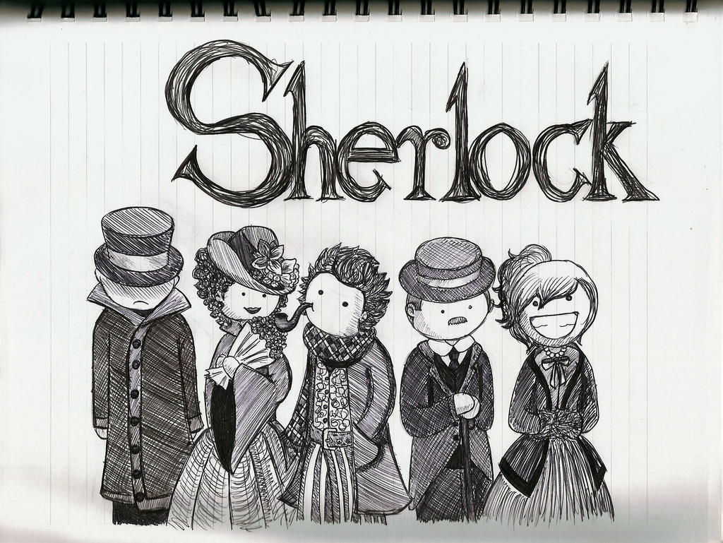 Sherlock Buddies by TheEvanescenceBegins