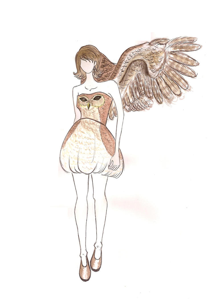 Owl Dress by TheEvanescenceBegins