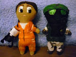 Plushie Chell and Adrian