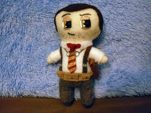 Plushie Augustus Sinclair by Pinka-Starlight