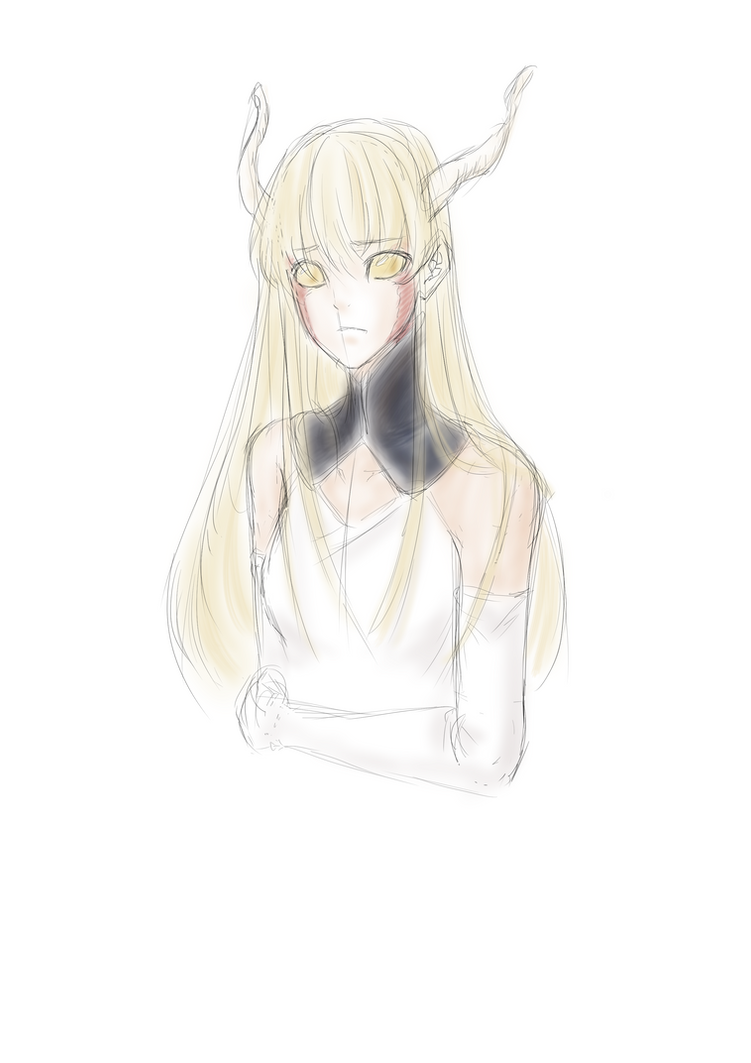 Concept Sketch: Emri by ARHDian