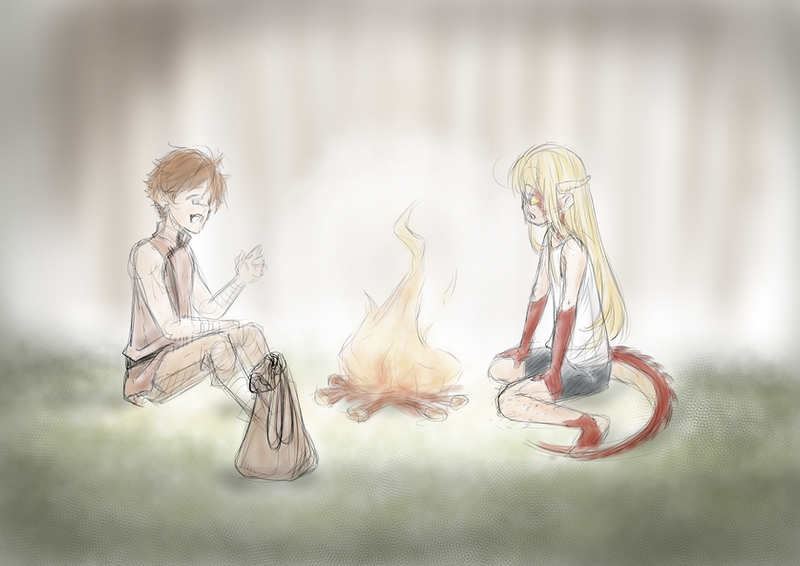 Campfire stories by ARHDian