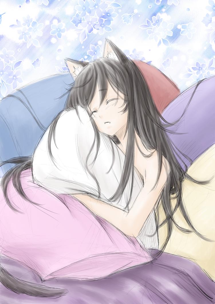 Sketch Redeem: Sleepy Luna by ARHDian