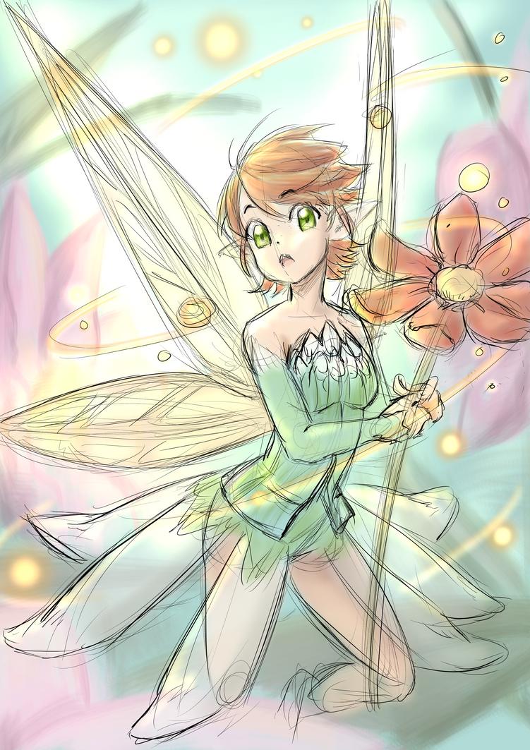 Flower Fairy by ARHDian
