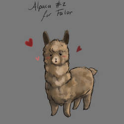 Appreciation Day: Alpacca nr 2 for Falor by ARHDian