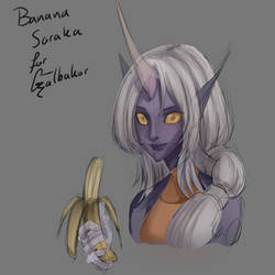 Appreciation Day: Banana Soraka for Galbakor by ARHDian