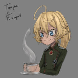 Appreciation Day: Tanya the Cute for Mirregall by ARHDian