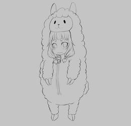Appreciation Day: Alpaca Kigurumi for Falor