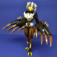 Eris: The Airhead Avian by ClockworkTempest00