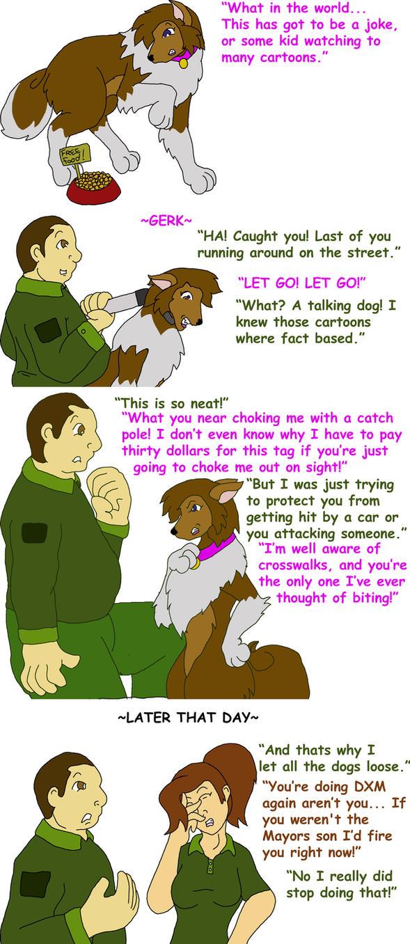 Dogcatcher's Bad Trip by Godendag