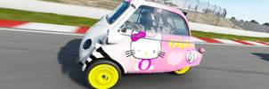 Forza 7 Hello Kitty by Usmovers02