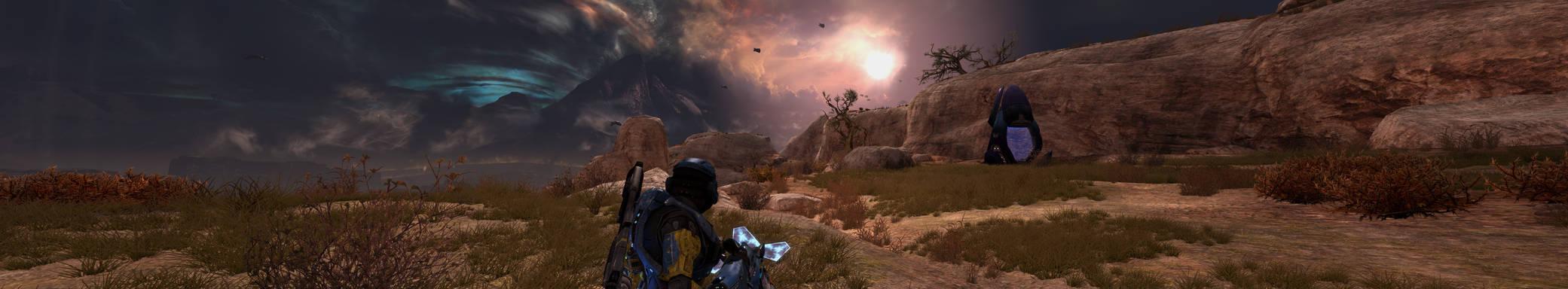 Triple 4K Halo Reach