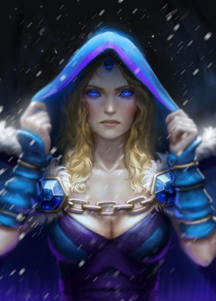 dota 2 crystal maiden fanart by shetrix on deviantart