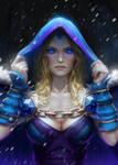 Dota 2 Crystal Maiden - fanart