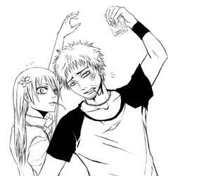Kanzaki vs Yuka by DoubleRagnarok