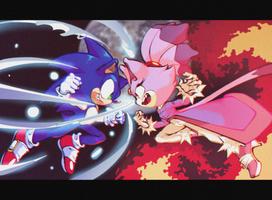 Sonic vs Blaze