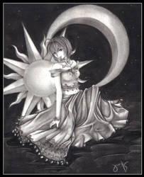 Sun, Moon, and Stars by zephryn86