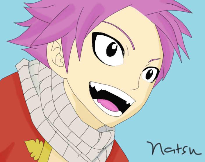 Natsu Dragneel Smile By Salamander27x