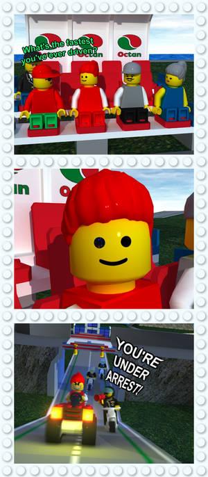 Lego Island Behind the Bricks: 200