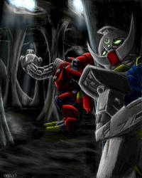 Underground Battle by famira
