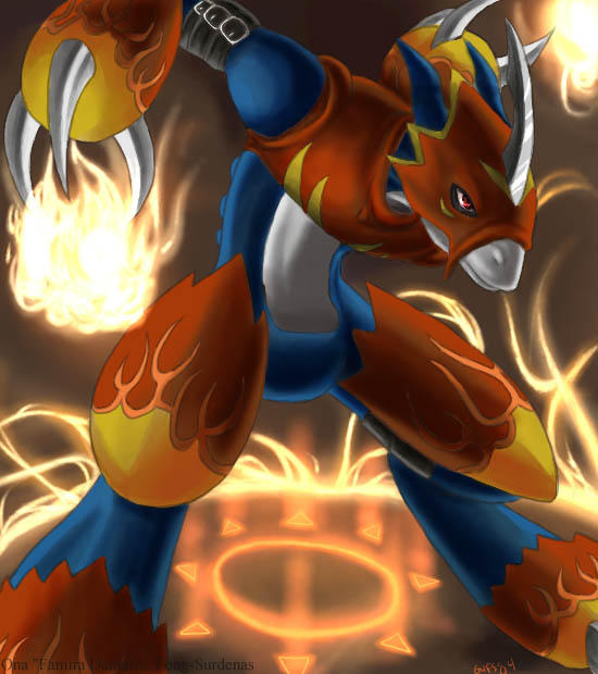 Flamedramon Wallpaper ...