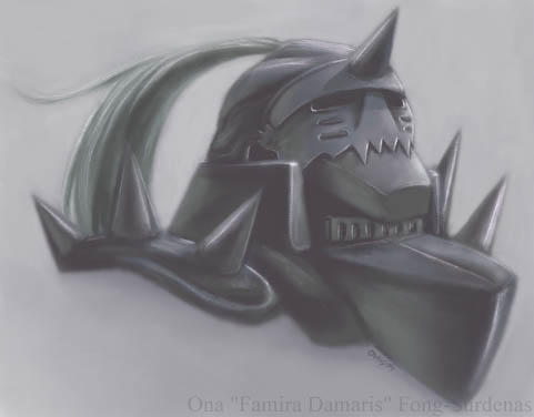 FMA - Alphonse Elric by famira