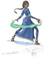 Avatar - Katara by famira