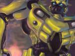Transformers- Bumblebee Oekaki