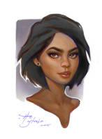 ColourPortaitSketch by Rustveld