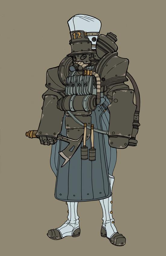 Heavy grenadier by spacegoblin