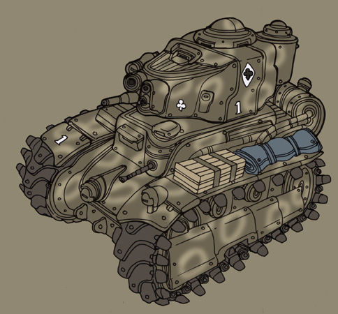 Light tank 2 by spacegoblin