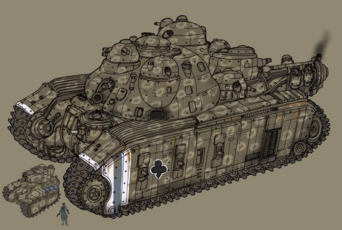 Mega Tank by spacegoblin