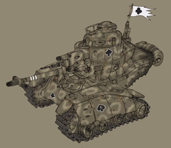 Medium tank by spacegoblin