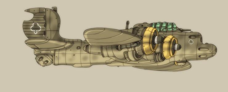 Light Bomber by spacegoblin