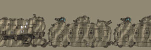 Armoured Train by spacegoblin