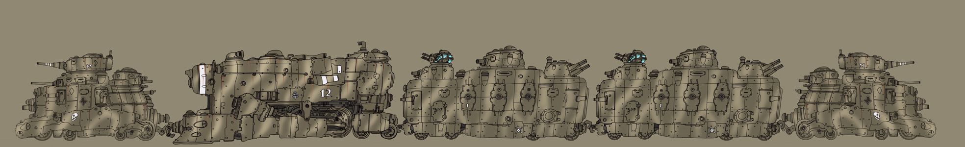 Armoured Train by spacegoblin