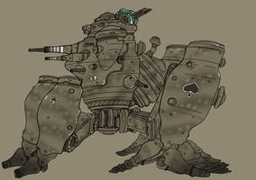 Medium Walker by spacegoblin