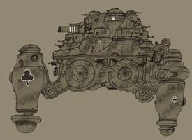 Heavy walker by spacegoblin